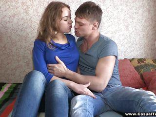 Русская молоденькая толстушка