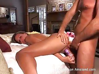 Домашнее порно куннилингус