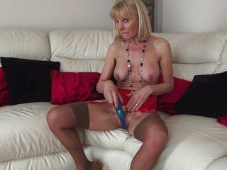 Домашнее порно зрелых дам