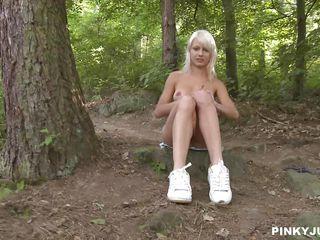 Секс русских любительское в лесу