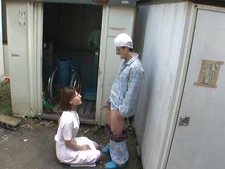 Медсестра порно улица