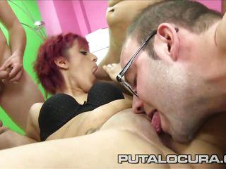 Порно любительское двойное проникновение