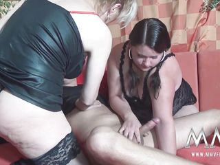 Немецкое порно втроем