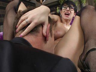 Порно нижнее белье и сапоги