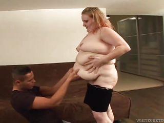 Порно толстые двойное