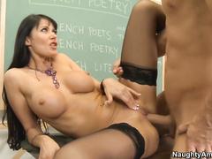 Учительница итальянского порно