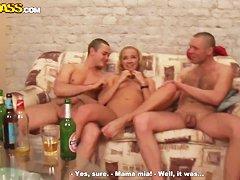 Русские пьяные бабки в сексе