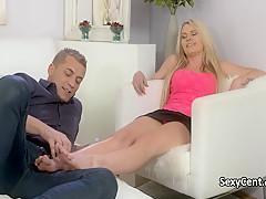 Порно массаж минет