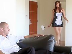 Секс с сексуальной горничной