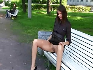 Секс видео дома на улице